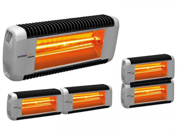 Calefactor Radiante Varma Tandem Bicolor marca TECNA